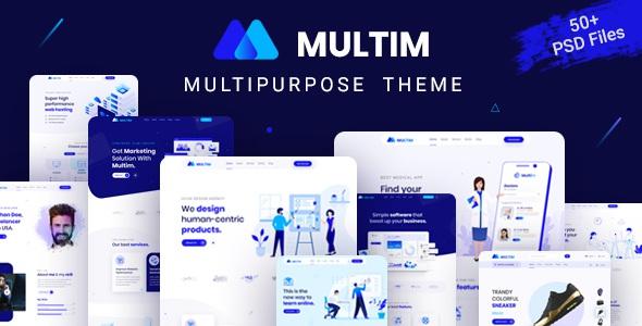 Best Multipurpose PSD Template
