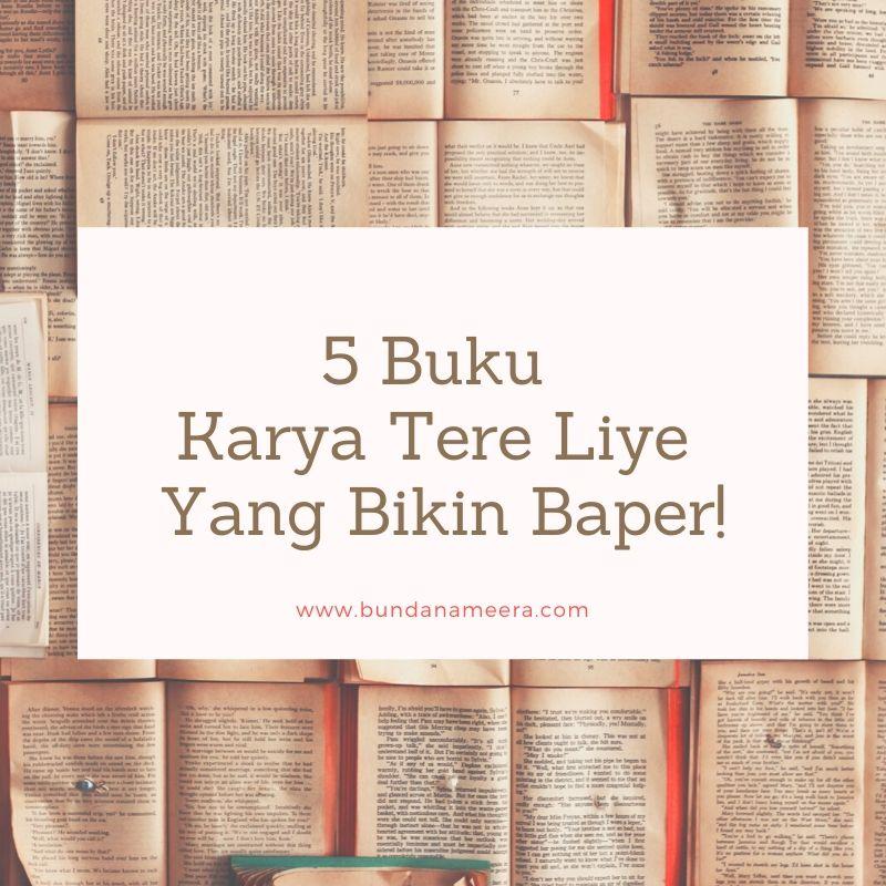 review buku tere liye, buku tere liye yang menginspirasi, buku karya Tere Liye yang keren
