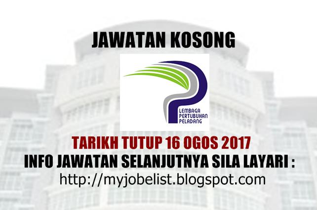 Jawatan Kosong Lembaga Pertubuhan Peladang (LPP)  Ogos 2017