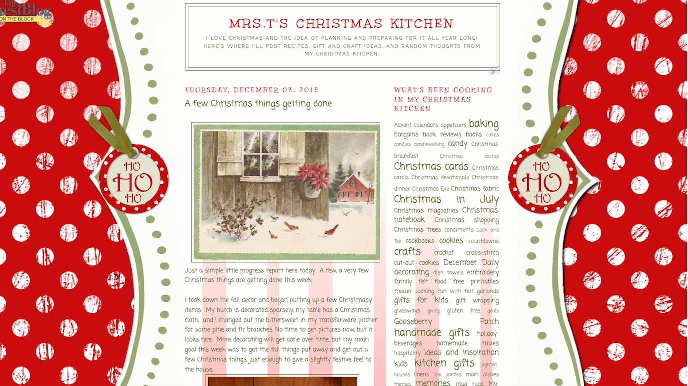Christmas In July Craft Ideas Part - 46: Christmas In July At My Christmas Kitchen!