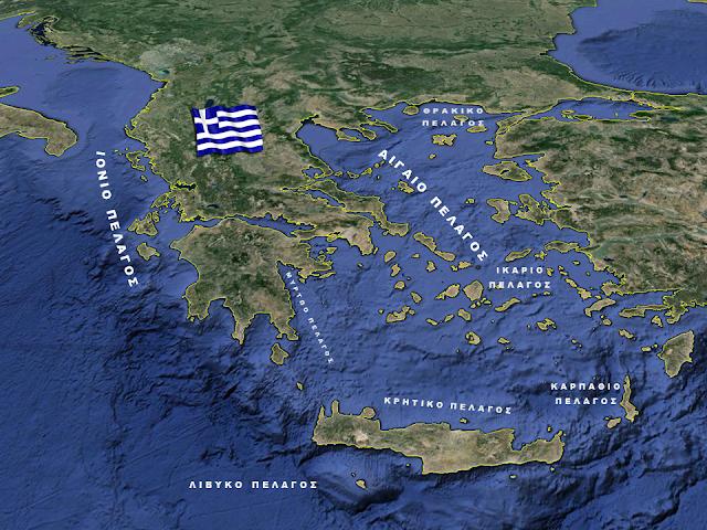 Ποιες Πόλεις Της Ελλάδας Θα Βυθίζονταν Αν Έλιωναν Οι Πάγοι