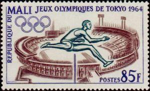 Mali Olimpíada 1964 Tóquio