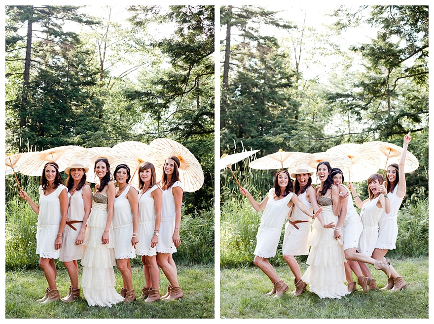 Real Retro Weddings: Real Rustic Vintage Wedding: Camille & Chris