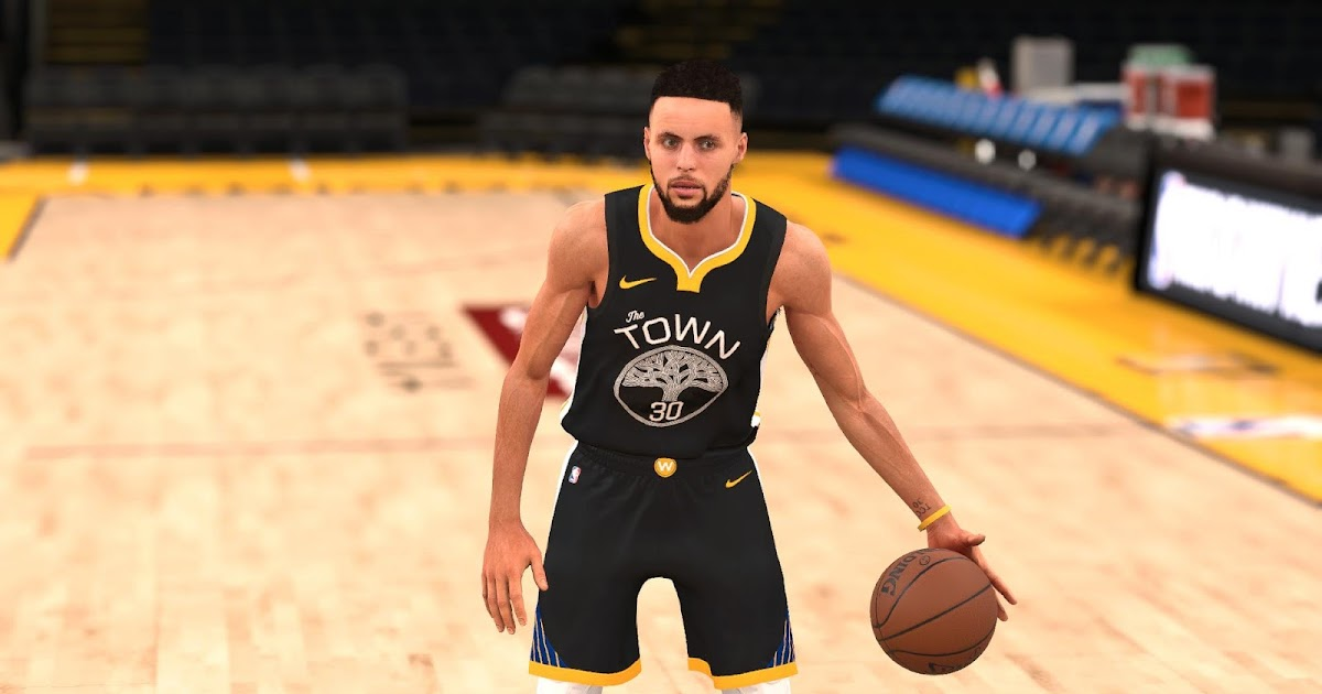 DNA Of Basketball | DNAOBB: NBA 2K18 Stephen Curry Cyberface by YG13