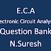 Electronic Circuit Analysis ( ECA) Question Bank