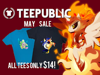 MLP Teepublic May Sale