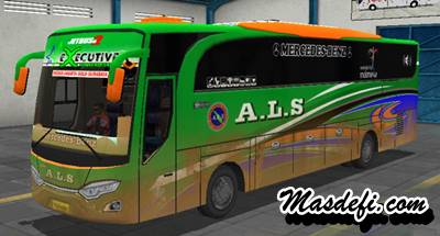 livery bussid hd als kotor