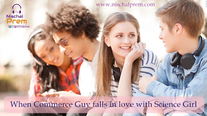 When Commerce Guy falls in love with a science Gal