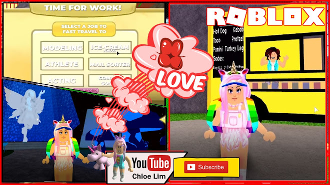 Roblox Robloxia World Gameplay! HOUSING! Glitchy Decorating and Working for little money!