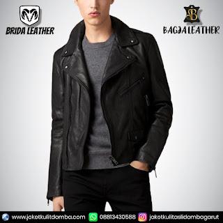 jaket kulit rider