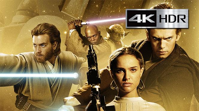 Star Wars Episodio II – El Ataque de los Clones (2002) REMUX 4K UHD [HDR] Latino-Castellano-Ingles