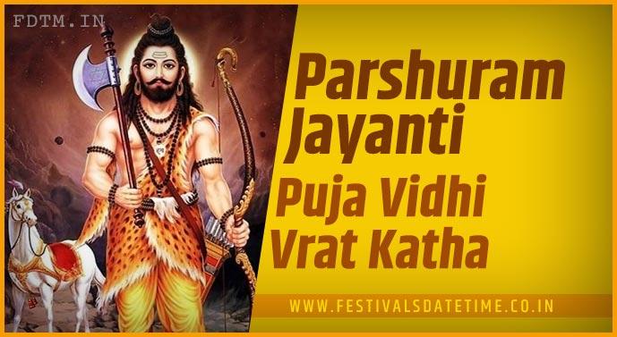 Parshuram Jayanti Puja Vidhi and Parshuram Jayanti Vrat Katha