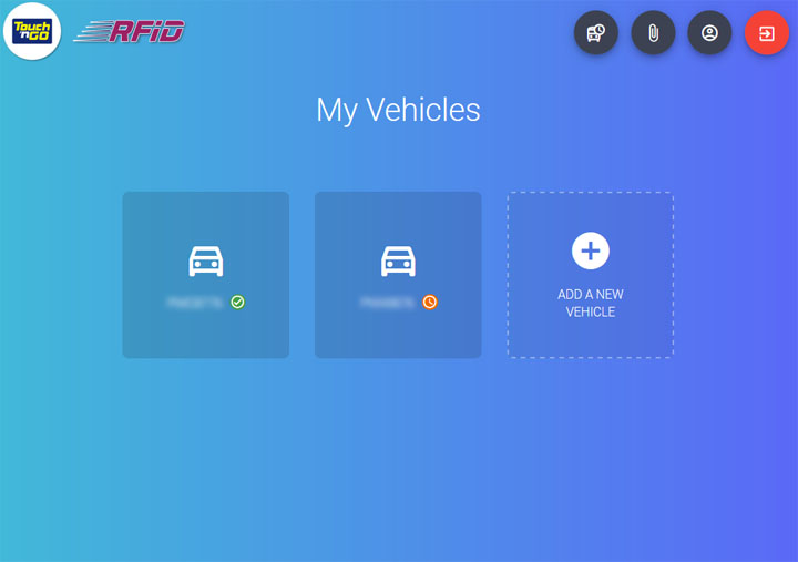 Cara daftar RFID untuk pemasangan kereta