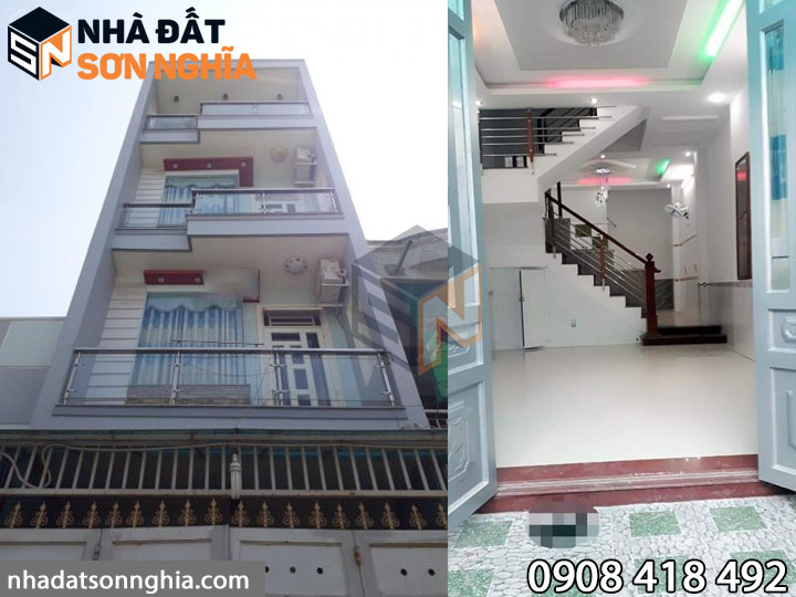 Nhà hẻm 84 đường Bùi Quang Là phường 12 Gò Vấp