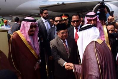 Raja Salman Sangat terkejut Ternyata Indonesia punya 800 Ribu Masjid