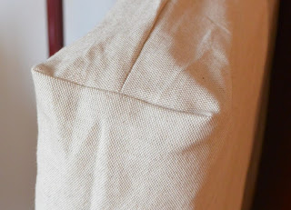 housse pour assise canapé palette beige