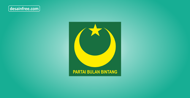 Logo Partai Bulan Bintang PBB Format CorelDraw