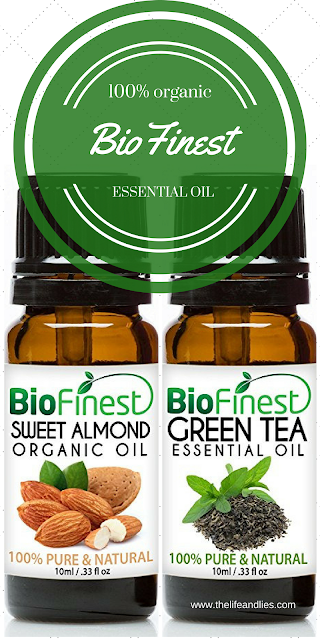 essential oil, green tea, almond oil, organic, non gmo