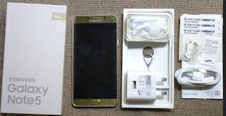 Isi kotak Samsung Galaxy
