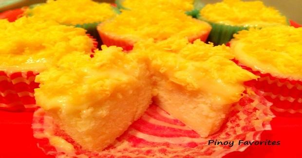 Yema Cupcake Recipe