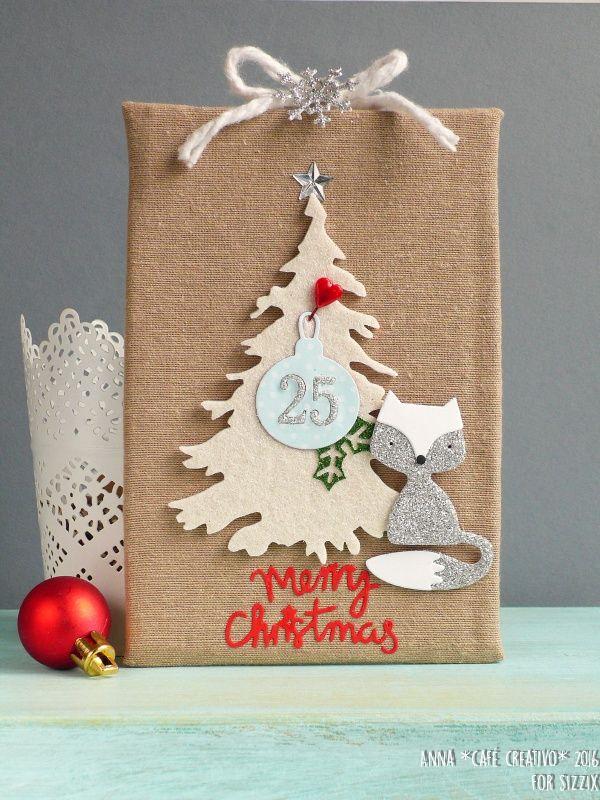 Decorazione con albero di Natale usando Sizzix – Big Shot