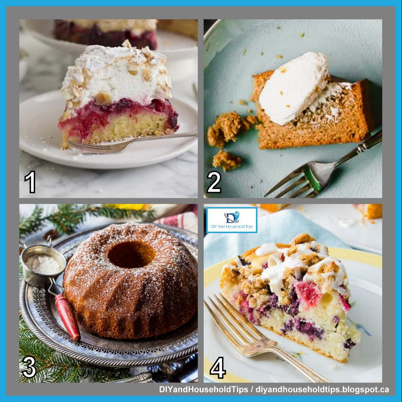 DIY And Household Tips: 6 Easy And Yummy Cake Recipes