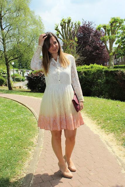 robe maje bi colore les petites bulles de ma vie