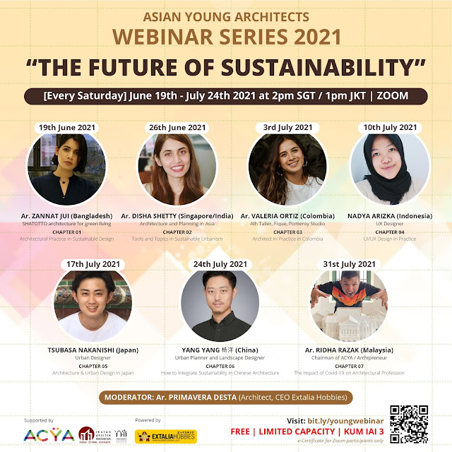 [Webinar Series] Asian Young Architects Webinar 2021: The Future of Sustainability