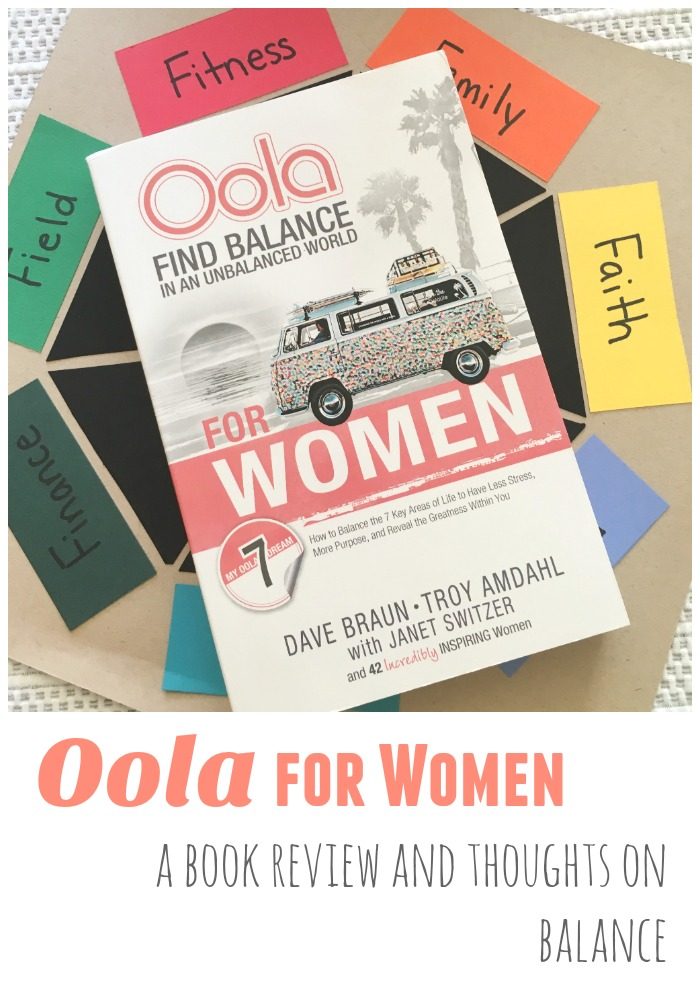 Oola for Women a Book Review and Thoughts on Balance