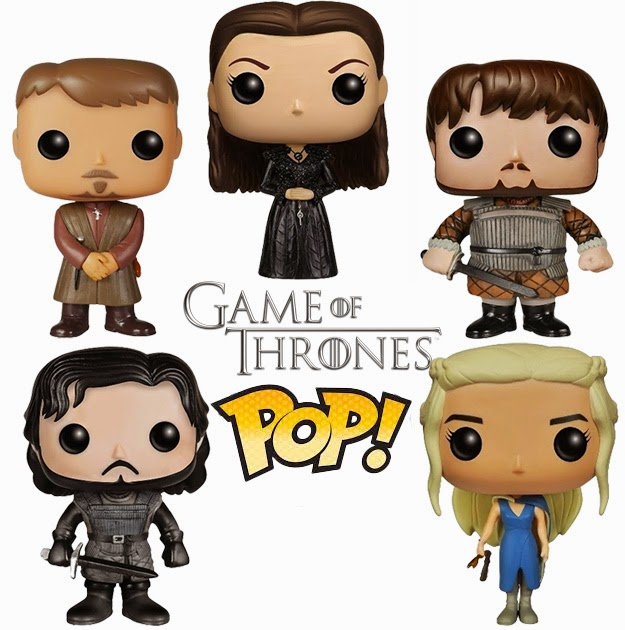 Bonecos Pop Funko Game of Thrones