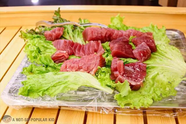 Tuna Sashimi of Hosaku International Buffet
