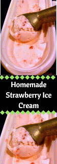 Oh so creamy and sweet this Homemade Strawberry Ice Cream is full of chunks of fresh strawberries and will cool you down all summer long! - Slice of Southern