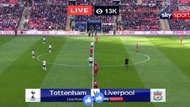 live : liverpool vs tottenham-hotspur