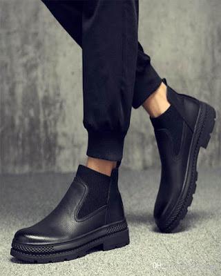 botas negras tumblr