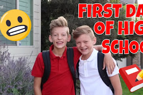 MY FIRST DAY OF HIGHSCHOOL