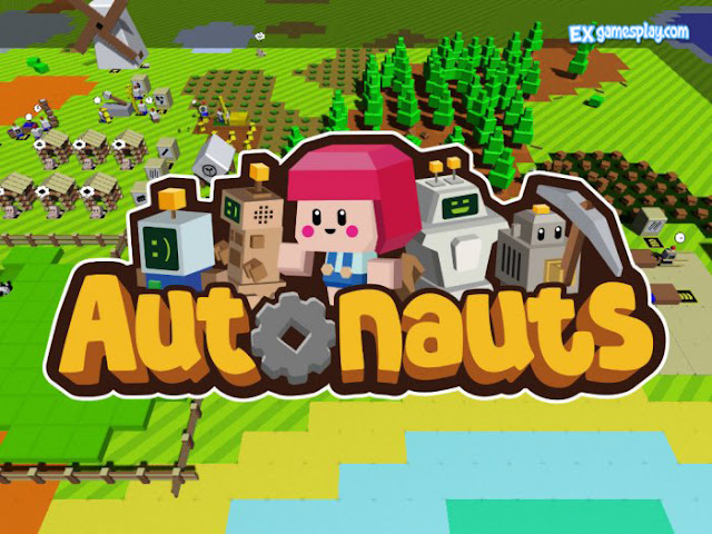 Autonauts Review - Simple Graphics but Not Simple Gameplay