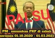 PKP Di Sabah Bermula 01.10.2020?