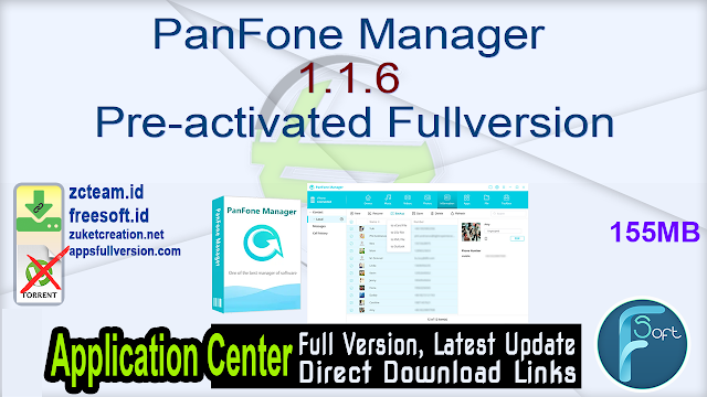 PanFone Manager 1.1.6 Pre-activated Fullversion