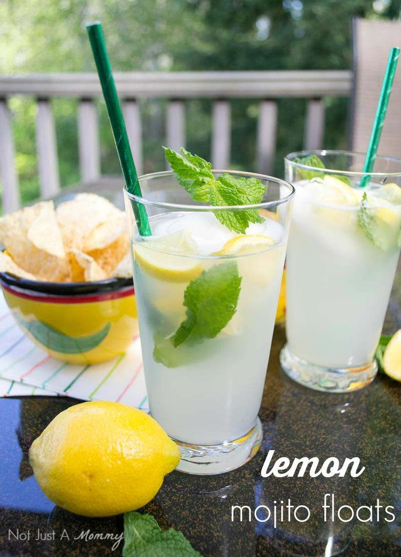 3 Boozy Floats Perfect For Summer; Lemon Mojito Floats
