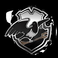 Distintivo della squadra di Quidditch dei Montrose Magpies