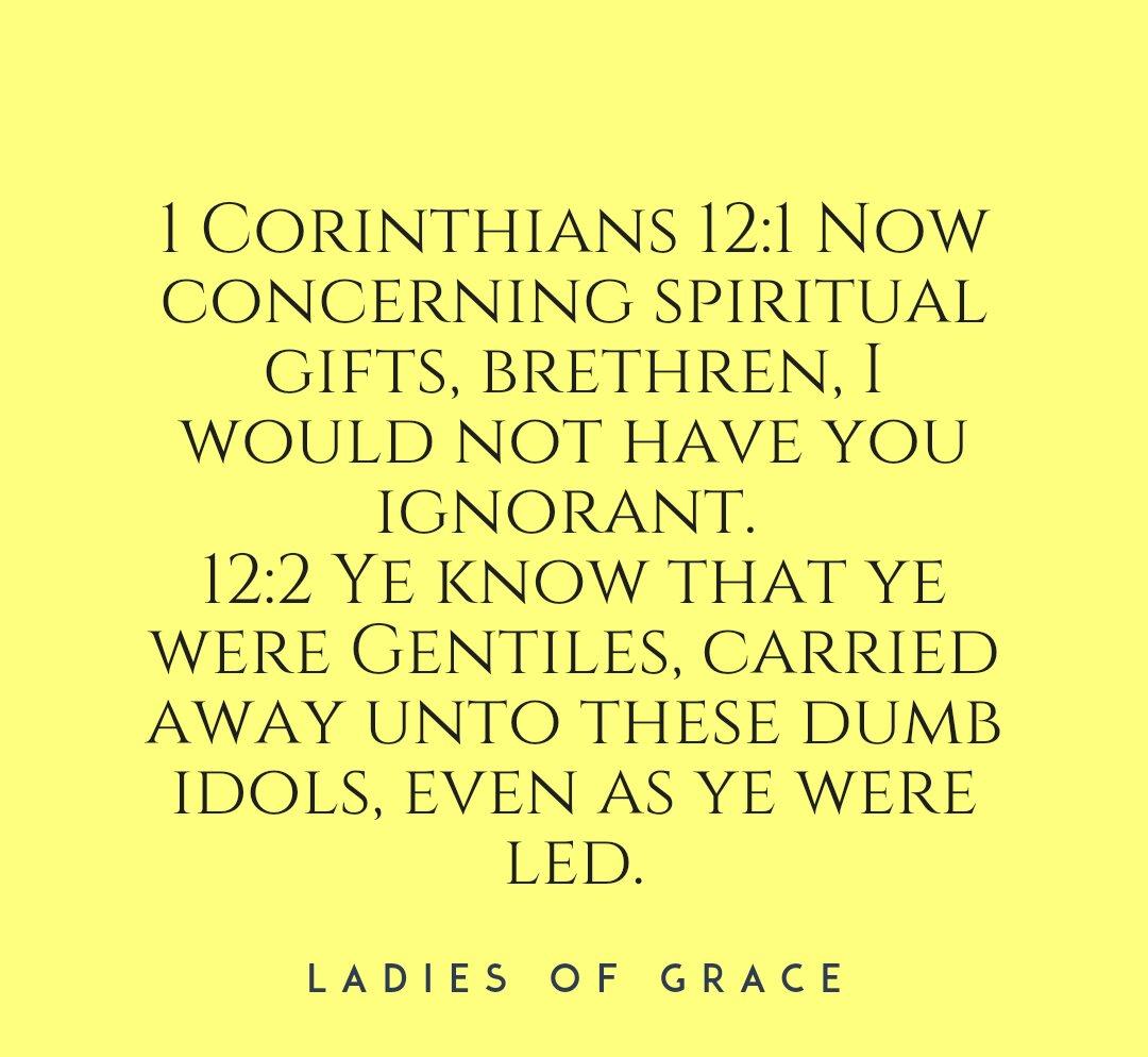 SPIRITUAL GIFTS (1COR12) | LADIES OF GRACE BLOG