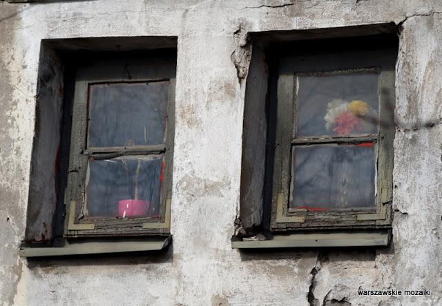 Warszawa Warsaw Wola Odolany ostańce okna