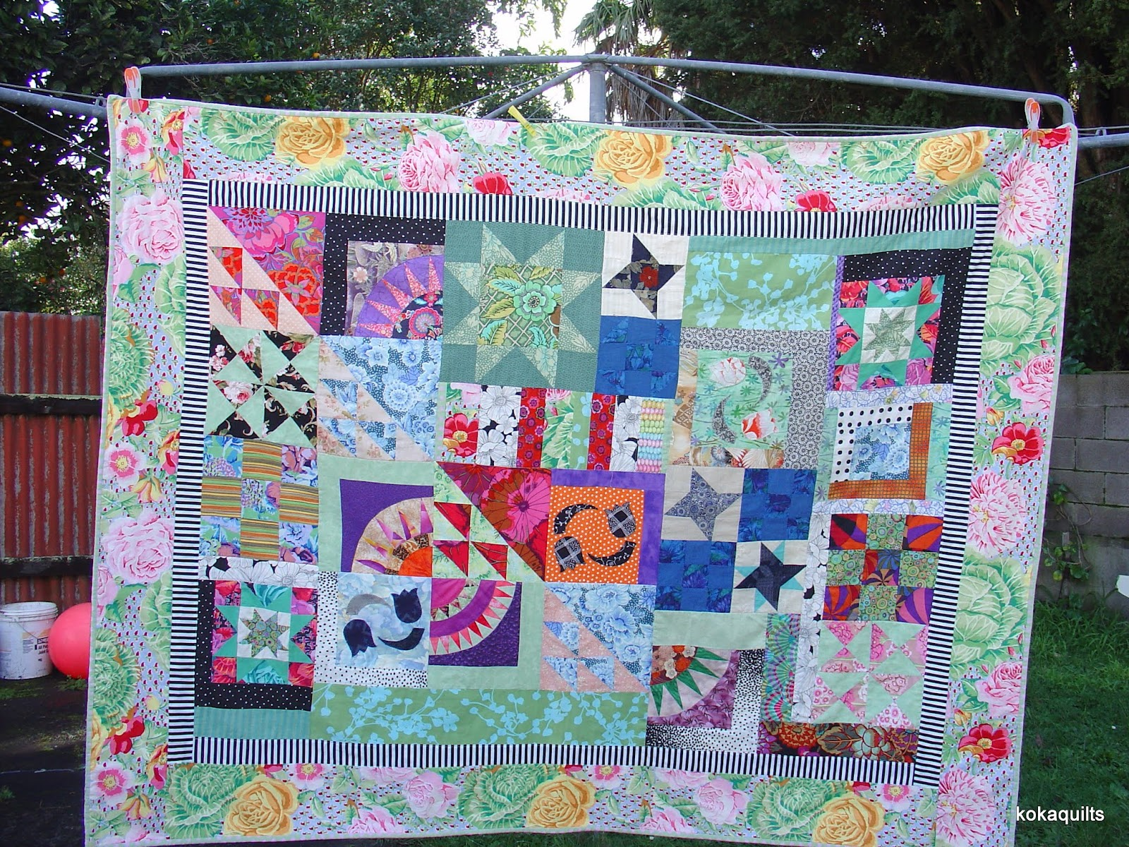 Kokaquilts My Everything But The Kitchen Sink Quilt
