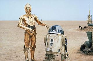 Dunia Sinema Star Wars C-3PO dan R2D2