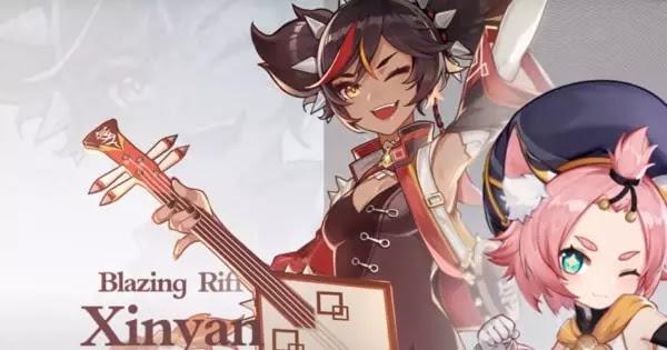 Xinyan Genshin Impact