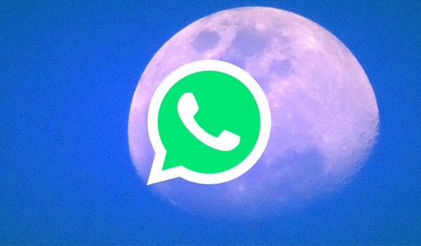 وأخيرًا - تطبيق واتس آب بالوضع الليلي