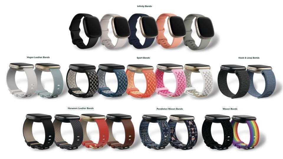 Preparatevi per i nuovi smartwatch Fitbit firmati e alla moda