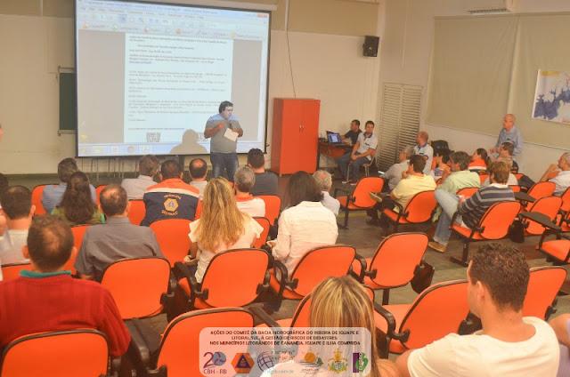 COMITÊ DA BACIA HIDROGRÁFICA DO RIBEIRA REALIZA EVENTO GESTÃO DE RISCOS NATURAIS NOS MUNICÍPIOS LITORÂNEOS