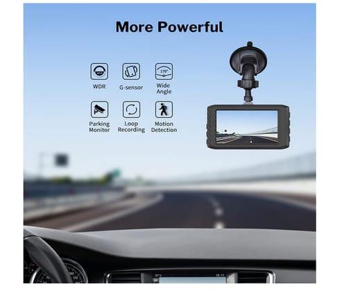 DEEWAZ X3 FHD 1296P Driving Recorde Dash Cam for Cars