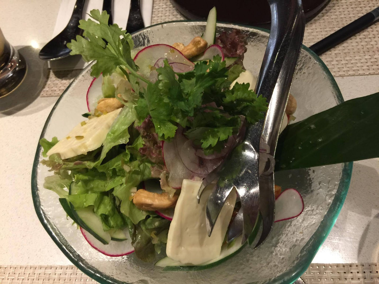 Red Ginger - Mixed Green Salad (PHP280)